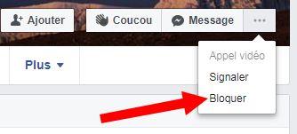 comment bloquer quelqu'un sur facebook