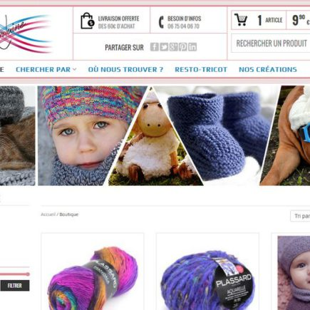 Lorlaine à Plainfaing, vente de laines Plassard