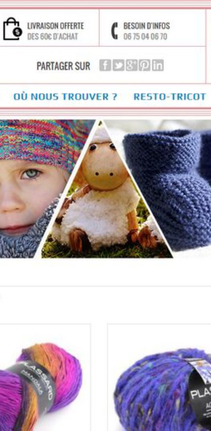 Lorlaine à Fraize, vente de laines Plassard