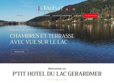 Le Ptit hôtel du lac à Gérardmer, le paradis dans les Vosges