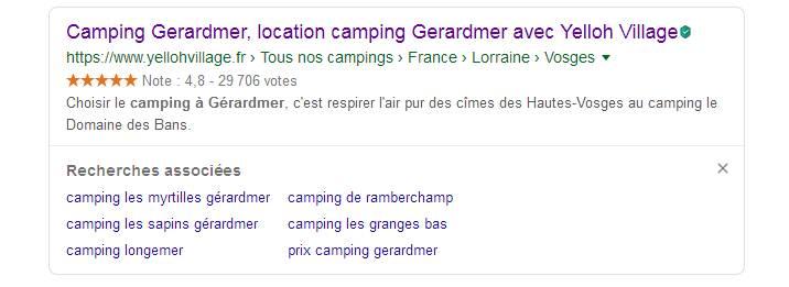 camping a gerardmer
